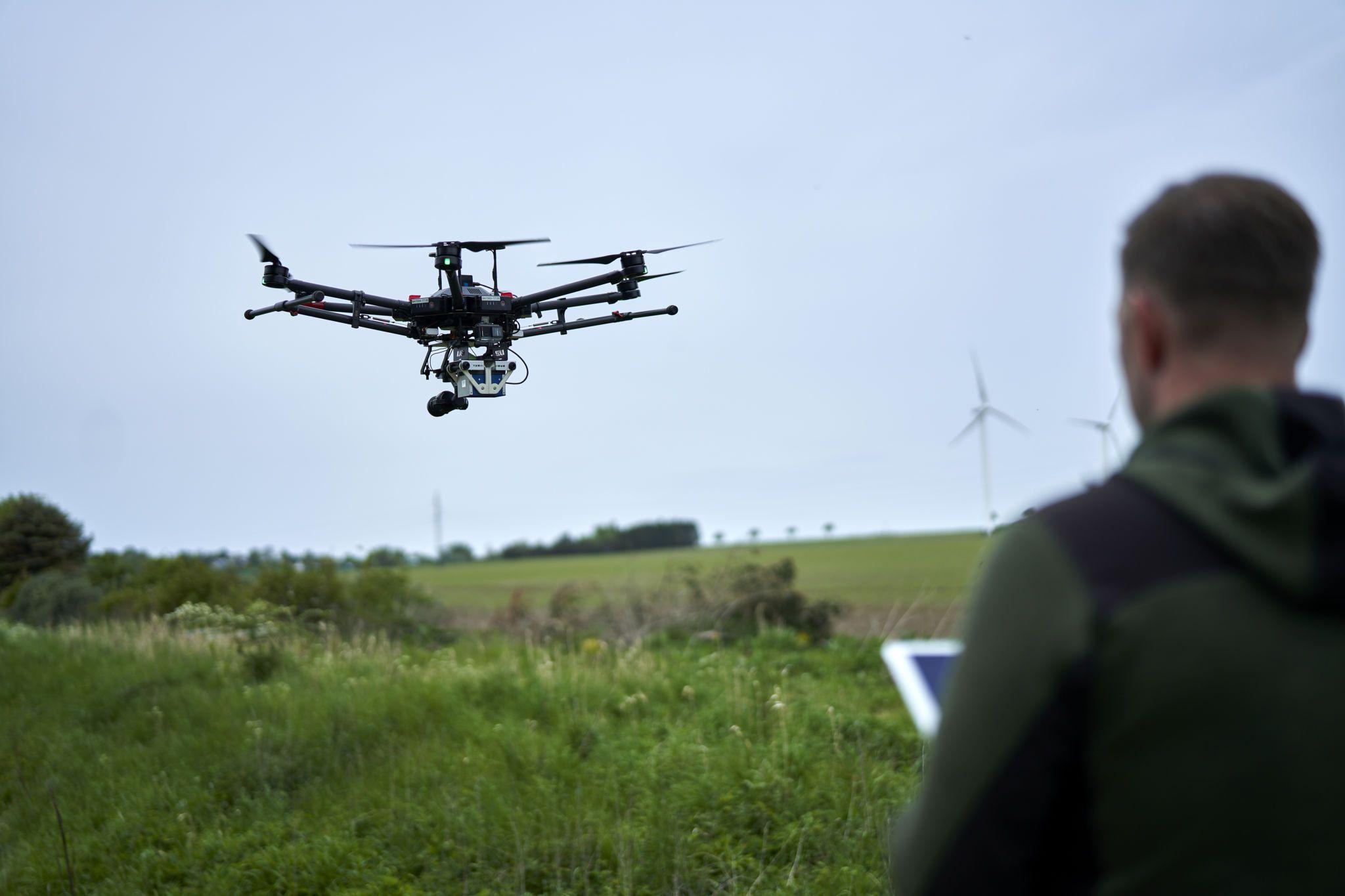 Droneopmåling- og kortlægning